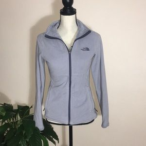 NORTH FACE baby blue jacket